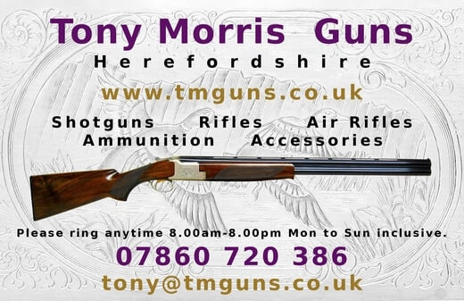 Tony Morris Guns - Shotguns for Sale